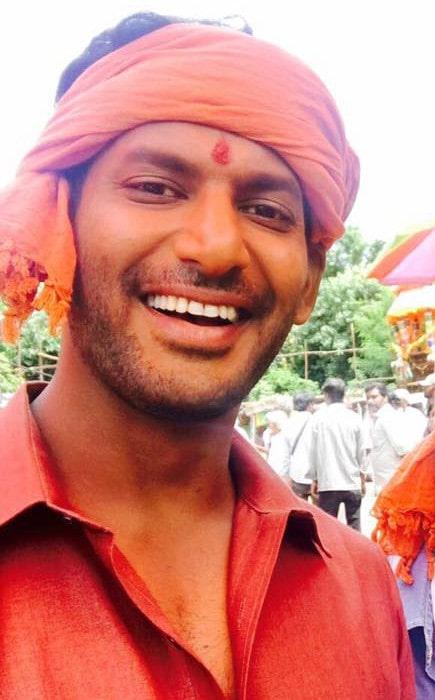 Vishal Krishna Reddy in a selfie as seen in October 2017