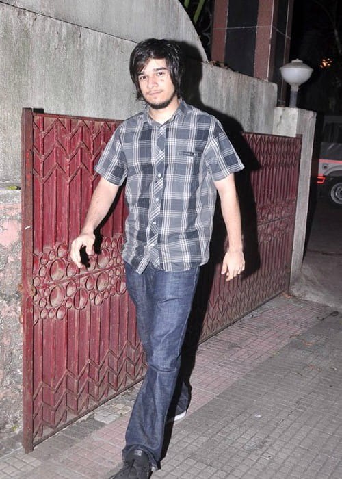 Vivaan Shah during an event in June 2012
