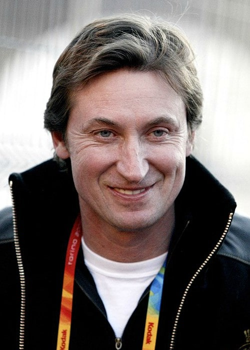 Wayne Gretzky at the 2006 Winter Olympics in Turin
