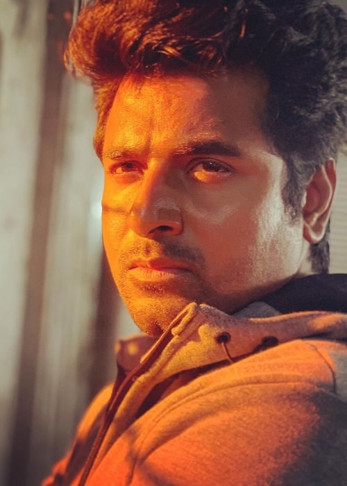 sivakarthikeyan as seen in the sets of the film 'Hero' in 2019
