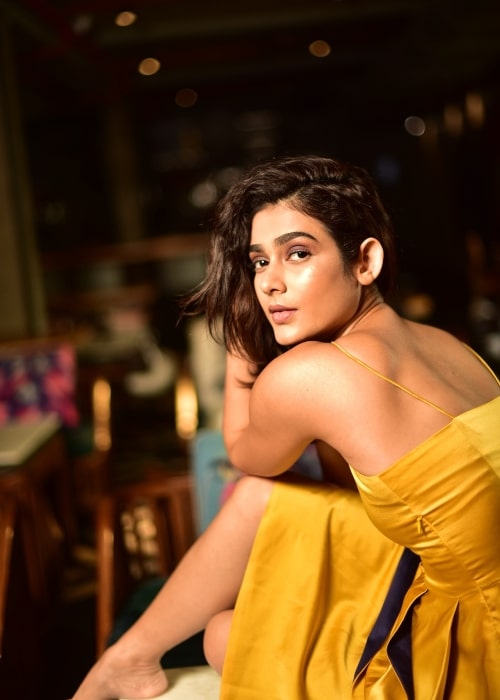 Aakanksha Singh as seen in a picture taken during a photoshoot on August 29, 2019