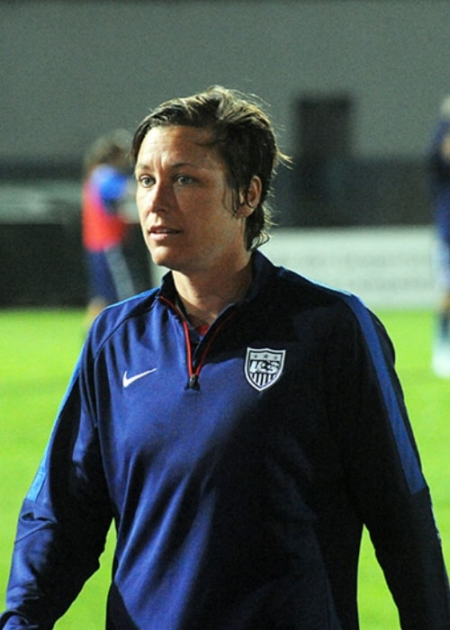 Abby Wambach as seen in March 2015