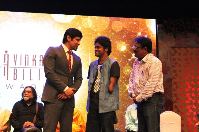Actor Vikram as seen at Cavinkare Ability Awards 2015