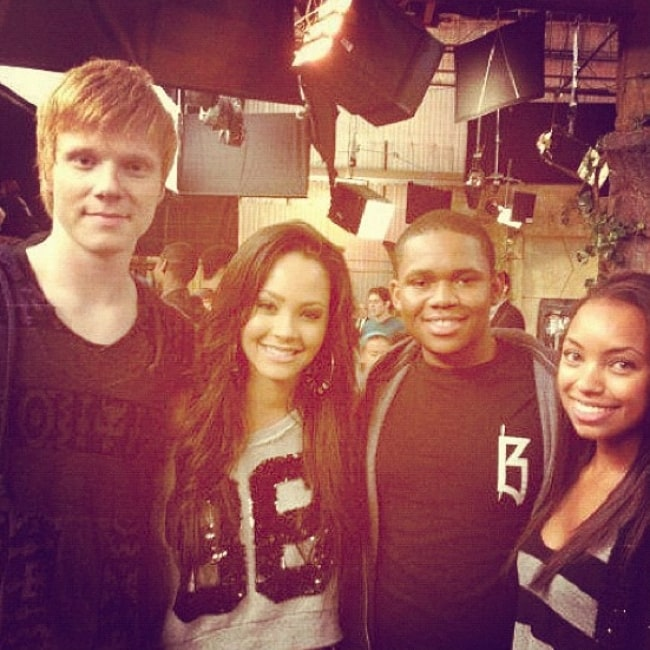 Adam Hicks (Corner Left) as seen while posing for a picture along with his friends in June 2012