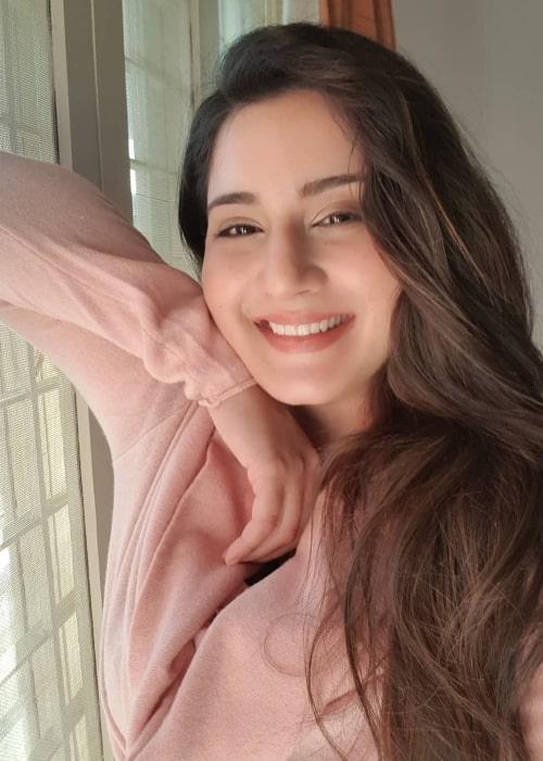 Aditi Rathore as seen in a selfie taken in January 2019