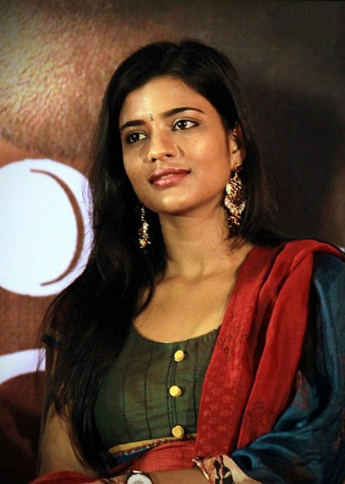 Aishwarya Rajesh as seen in October 2013