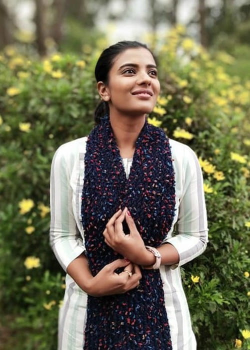 Aishwarya Rajesh as seen in September 2019