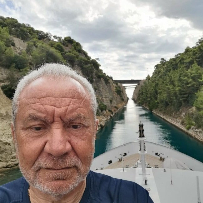 Alan Sugar as seen in July 2019