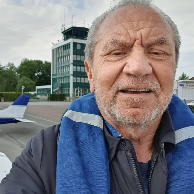 Alan Sugar as seen in May 2019