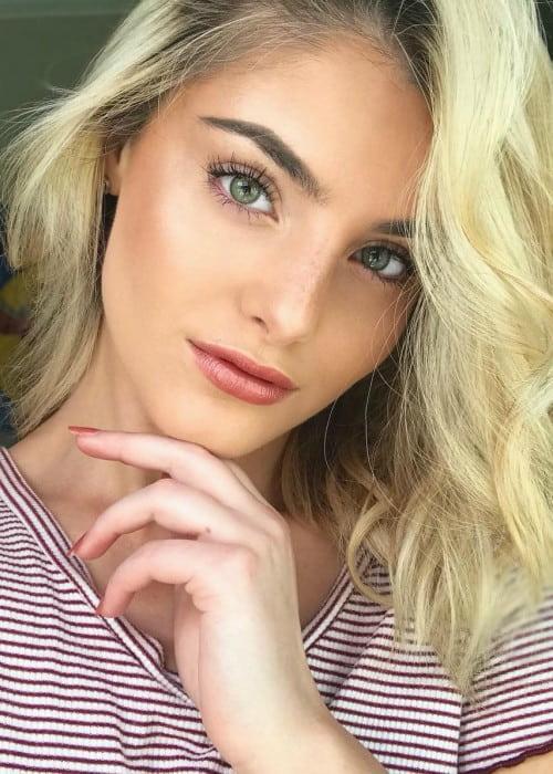 Alana Arbucci in an Instagram selfie as seen in September 2018