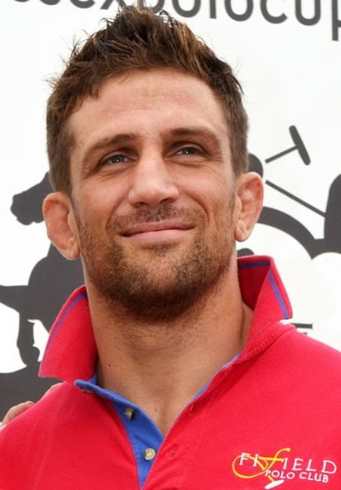 Alex Reid at the Duke of Essex Polo Trophy in 2011