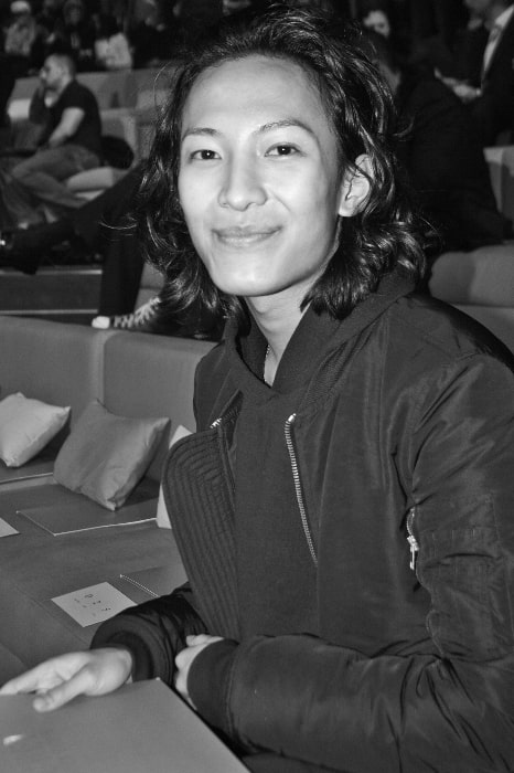 Alexander Wang as seen while smiling in a picture taken at the 2009 Victoria's Secret Fashion Show