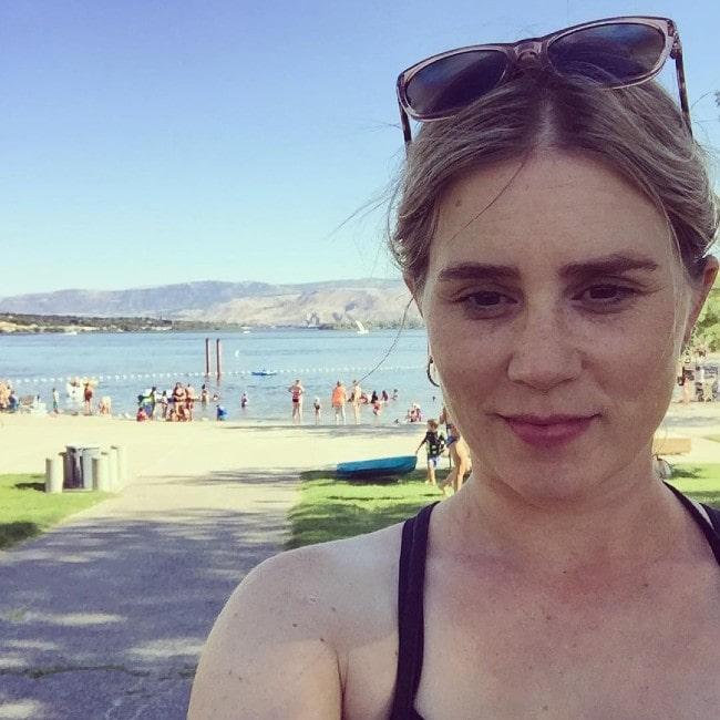 Alison Lohman as seen in July 2018