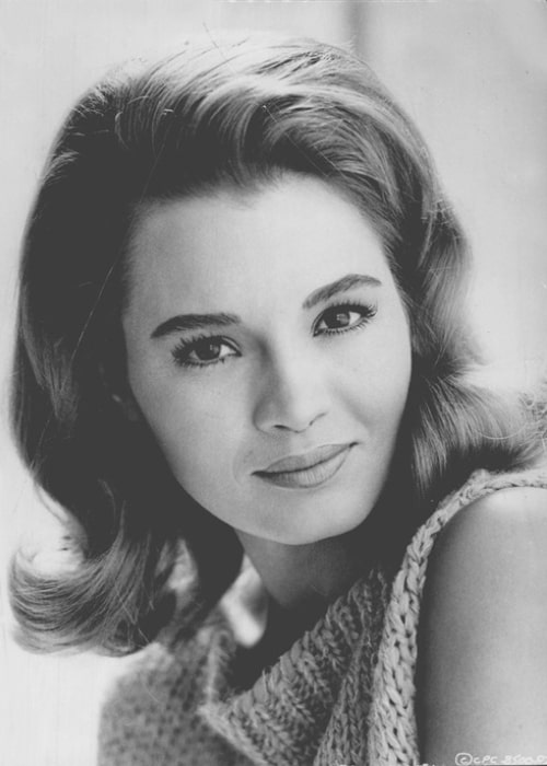 Angie Dickinson as seen in a picture taken in the early 1960s