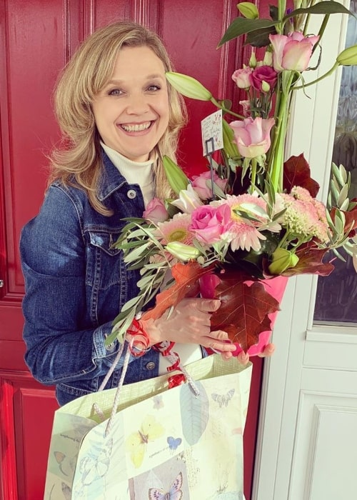 Ariana Richards as seen in a picture taken on the day of her birthday September 2019