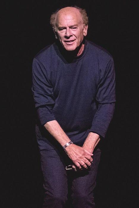 Art Garfunkel performing at the London Palladium in July 2017
