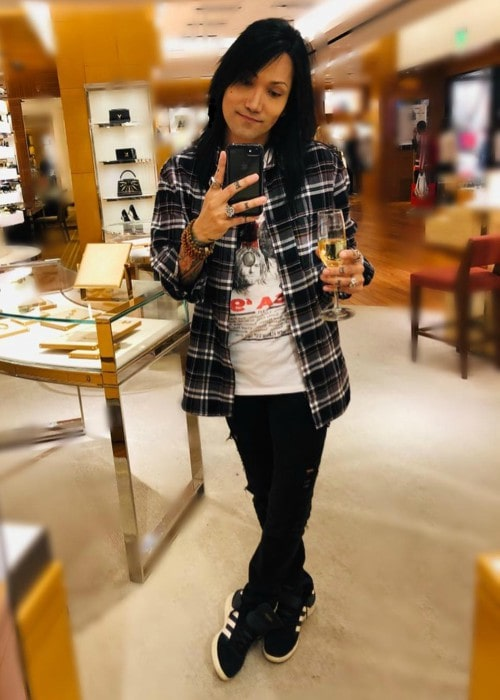 Ashley Purdy in a selfie as seen in December 2018
