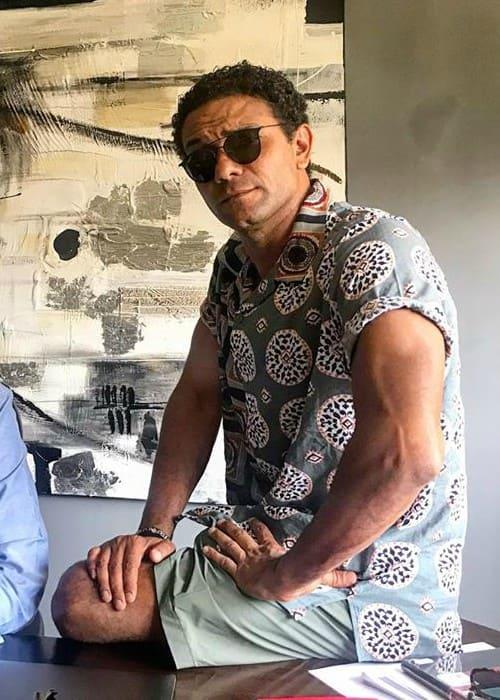 Asser Yassin in an Instagram post as seen in July 2019