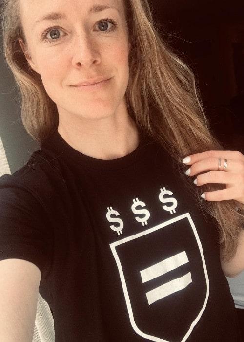 Becky Sauerbrunn as seen in April 2019