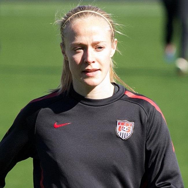 Becky Sauerbrunn as seen in February 2012