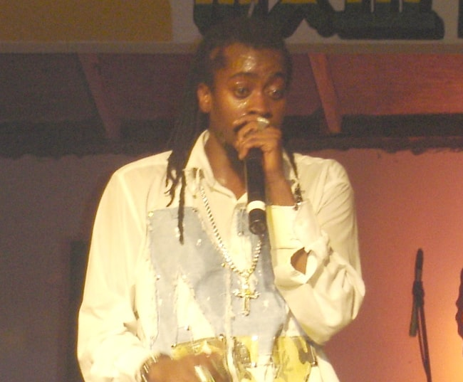 Beenie Man as seen while performing in February 2006