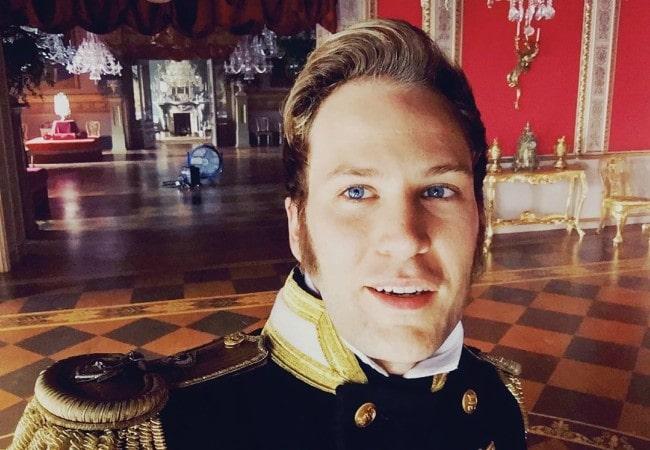 Ben Lamb in a selfie in November 2019