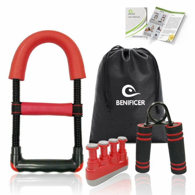 Benificer Hand Strengtheners 3 Pack Wrist Exerciser