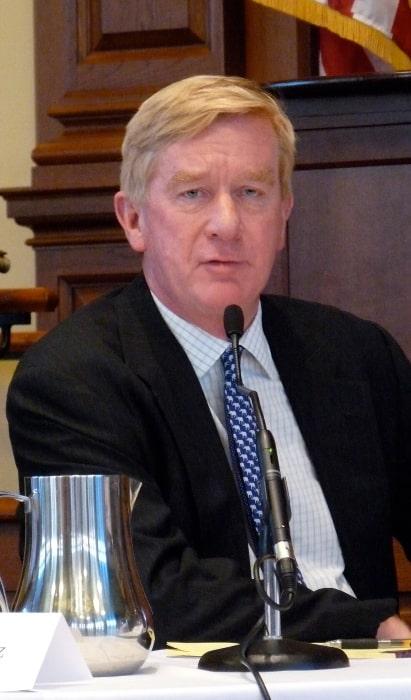 Bill Weld as seen while speaking at Harvard Law School in November 2008