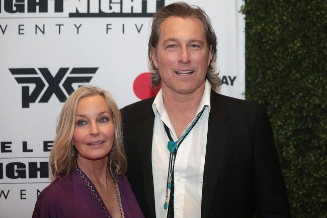 Bo and John Corbett seen at the Celebrity Fight Night XXV held at the JW Marriott Desert Ridge Resort & Spa in Arizona