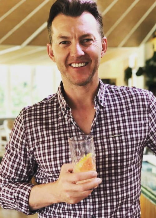 Brett Lee in an Instagram post in October 2019