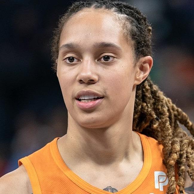 Brittney Griner as seen in July 2019