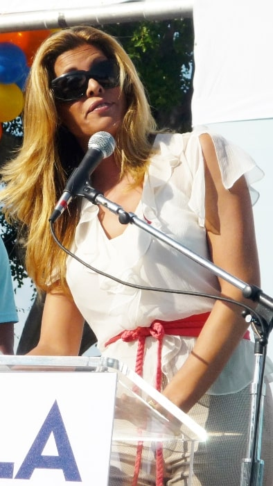 Candis Cayne as seen while speaking at AIDS Walk in October 2009