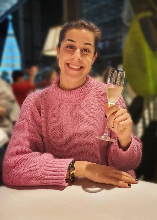 Carolina Marin as seen in December 2019