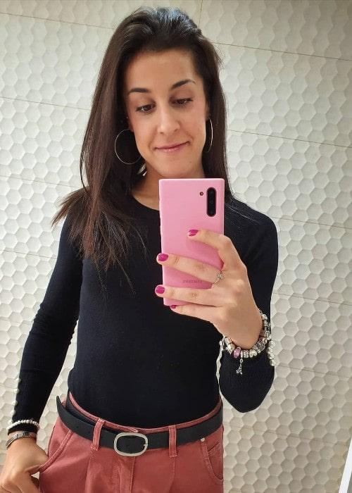 Carolina Marin as seen in November 2019