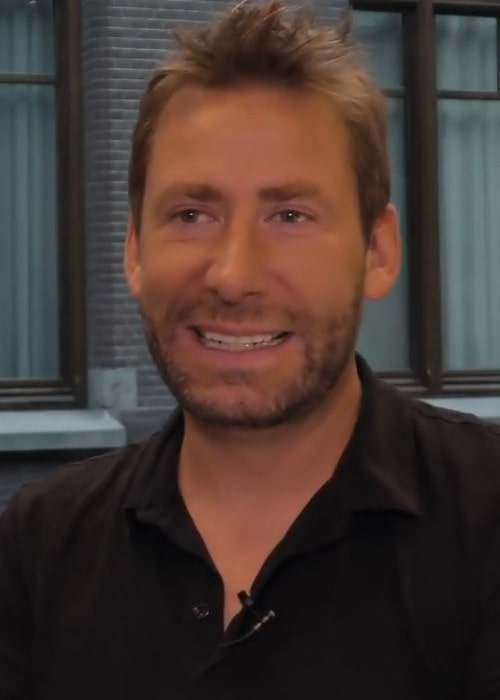 Chad Kroeger during an interview as seen in June 2017