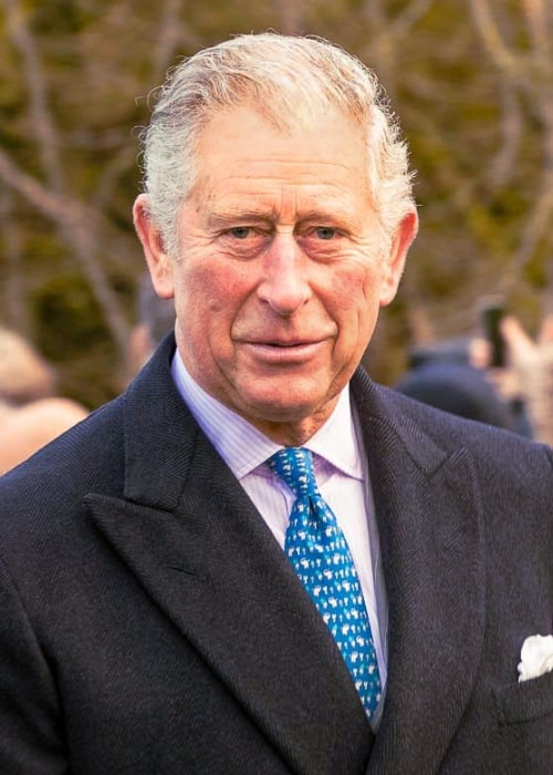Charles, Prince of Wales as seen while attending church with his family at Sandringham on Christmas Day 2017