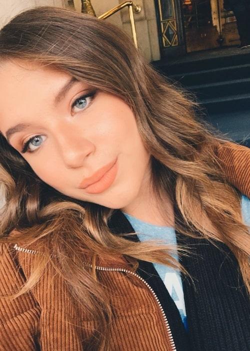 Chiara D'Ambrosio as seen in a selfie taken in November 2019