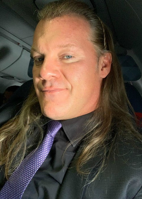 Chris Jericho in an Instagram selfie as seen in November 2019