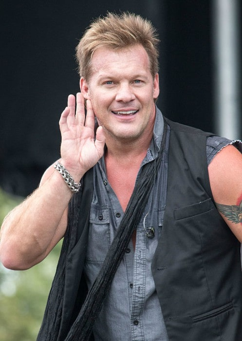 Chris Jericho performing at the 2015 Festival of Friends in Ancaster