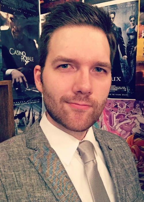 Chris Stuckmann in an Instagram selfie as seen in October 2015