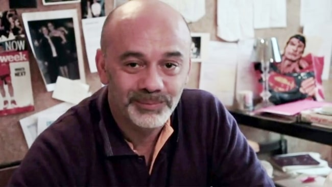 Christian Louboutin as seen in a documentary for W magazine in August 2011