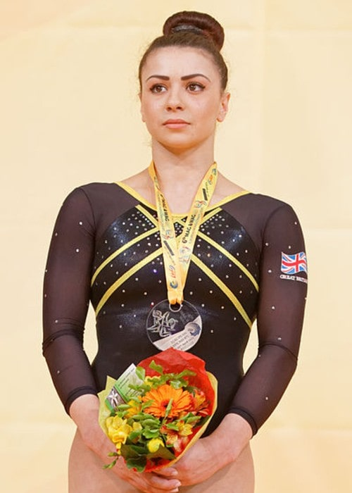 Claudia Fragapane as seen in April 2015