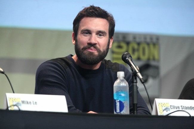 Clive Standen at the 2015 San Diego Comic Con International