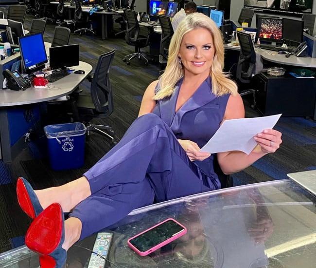Courtney Friel as seen in December 2019