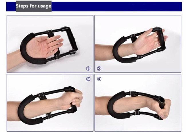E-smartinlife Hand Wrist Exerciser Uses