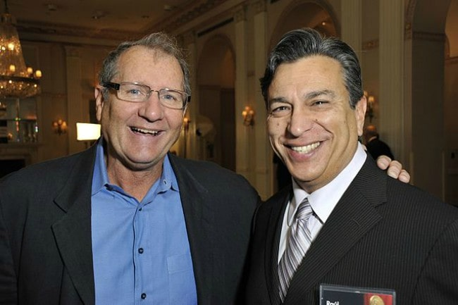 Ed O'Neill (Left) and Raúl Garza as seen in May 2010