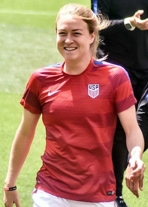 Emily Sonnett as seen in June 2016