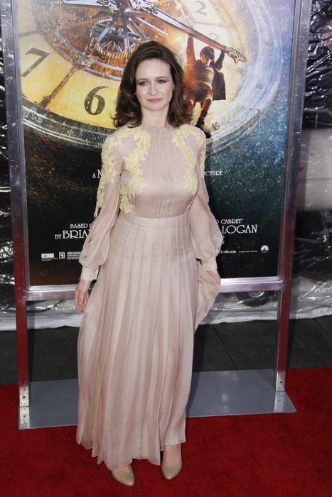 Emily attending the New York premiere of Hugo in 2011
