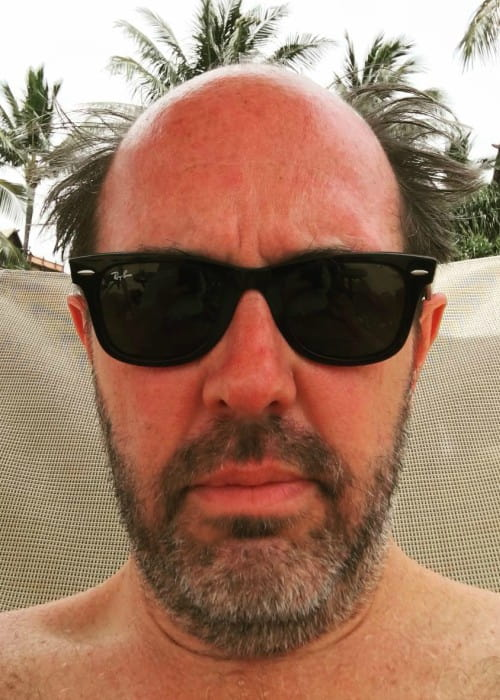 Eric Lange in an Instagram selfie as seen in April 2018