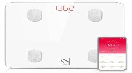 FitIndex Smart Wireless Digital Bathroom Weight ScaleReview